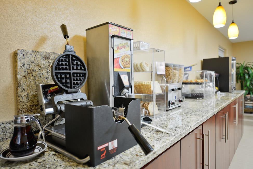 Best Western Padre Island - Le petit déjeuner buffet