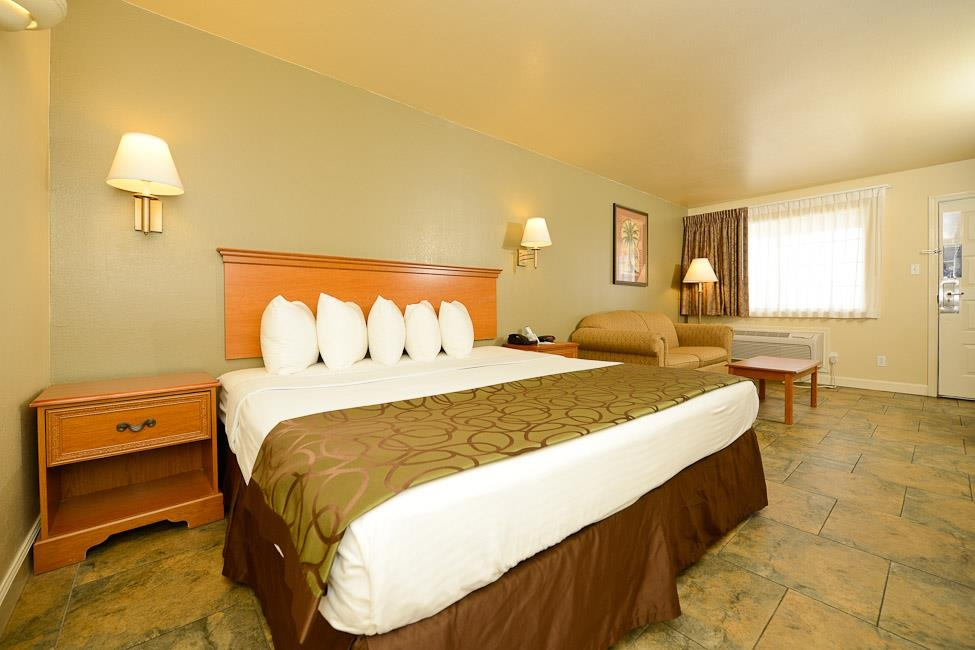 Best Western Padre Island - Guest room with one king bed.