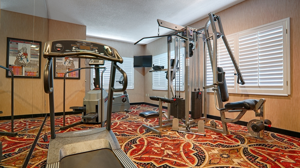 Best Western Plus Southpark Inn & Suites - Sala fitness
