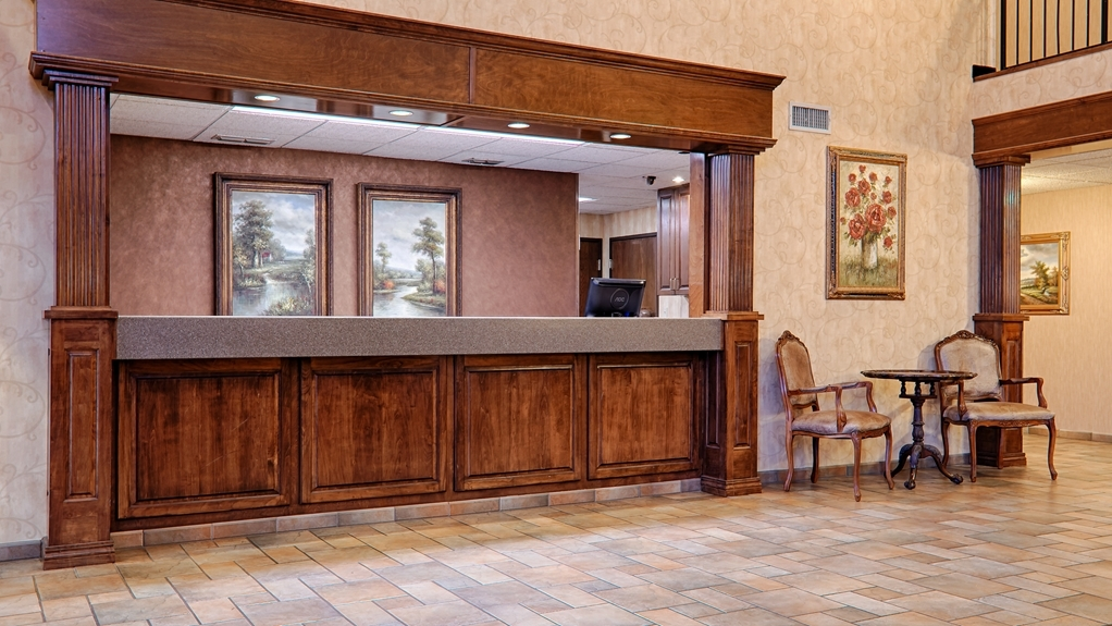 Best Western Plus Southpark Inn & Suites - reception