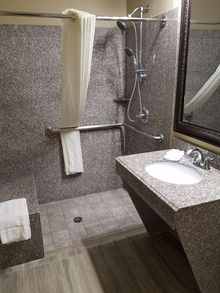 Best Western Heritage Inn - Our accessible bathrooms were designed with mobility in mind.