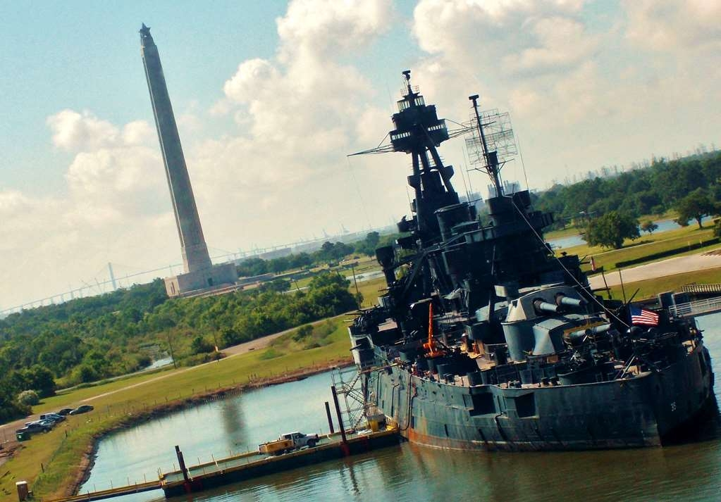 Best Western Heritage Inn - USS Texas Overlooking San Jacinto Monument at Houston Ship Channel