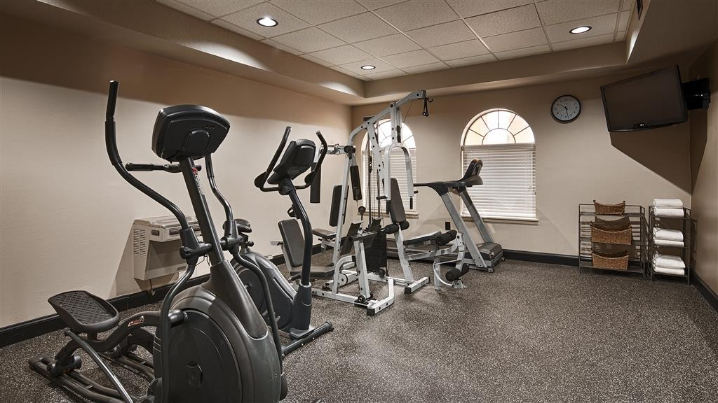 Best Western Heritage Inn - Fit a workout into your busy day during your stay with the convenience of our 24-hour fitness center.