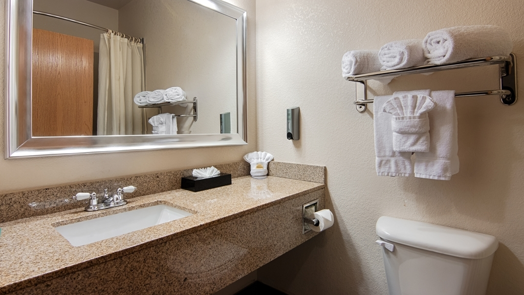Best Western Plus DFW Airport Suites - Salle de bain
