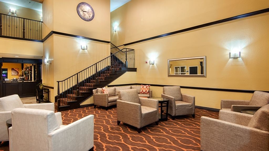 Best Western Plus DFW Airport Suites - Vue du lobby