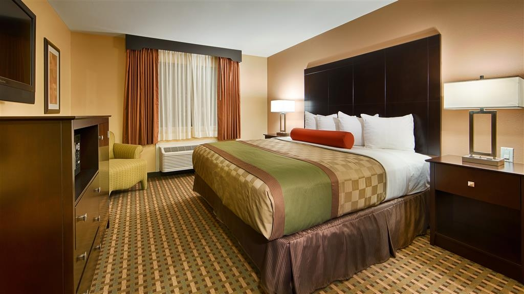 Best Western Plus Edinburg Inn & Suites - King Bed Guest Room