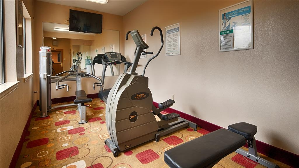 Best Western Plus Denton Inn & Suites - Sala fitness