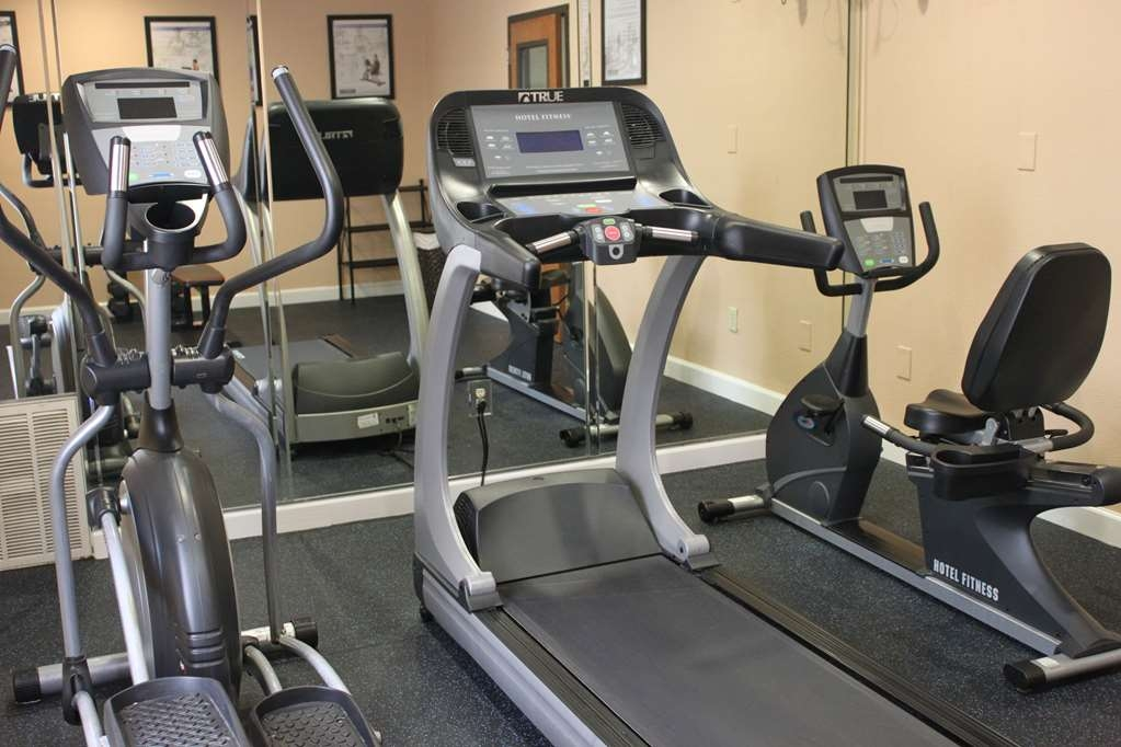 Best Western Plus North Houston Inn & Suites - Our complimentary fitness center is equipped with treadmill, elliptical, and recumbent bike.