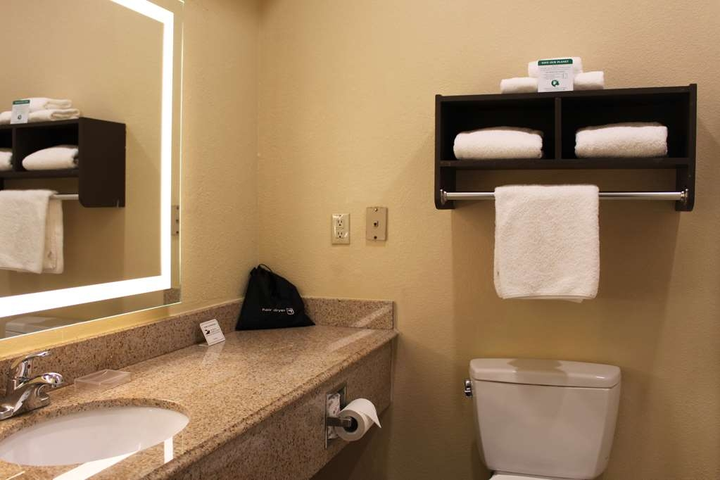 Best Western Plus North Houston Inn & Suites - Enjoy getting ready for the day in our fully equipped guest bathrooms.