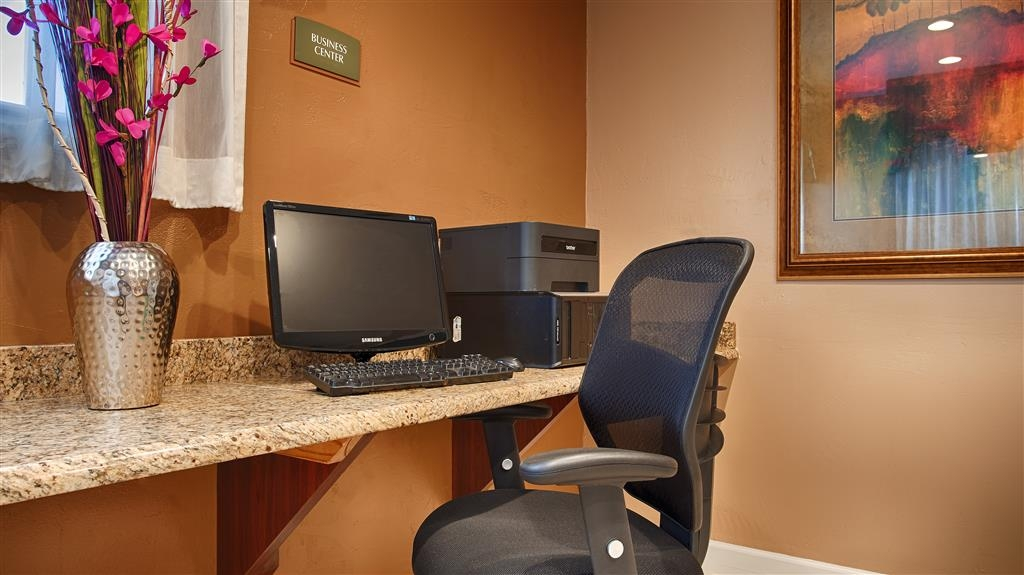 Best Western Snyder Inn - Catch up with work in our business center.