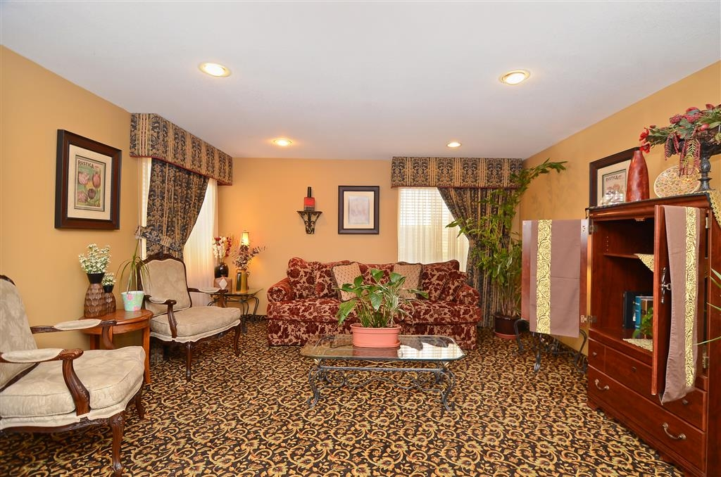 Best Western Abilene Inn & Suites - Hall de l'hôtel