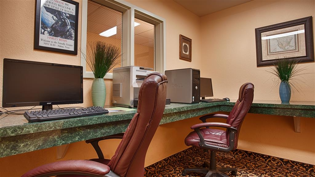 Best Western Abilene Inn & Suites - centre des affaires