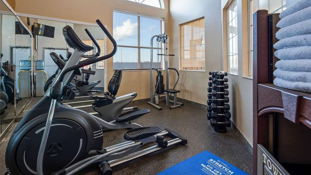 Best Western Plus Lubbock Windsor Inn - Fitnessstudio