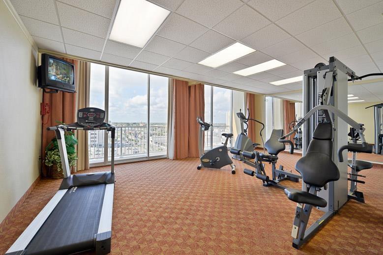 Best Western Corpus Christi - In unserem Fitnessstudio können Sie Ihr Trainingsprogramm auch auf Reisen aufrechterhalten!