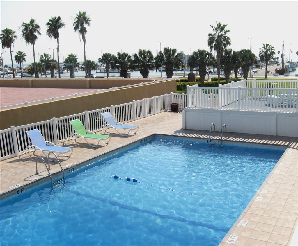 Best Western Corpus Christi - Egal, ob Sie auf der Suche nach Entspannung am Pool sind oder eine Runde schwimmen möchten, unser Poolbereich im Freien ist der ideale Ort dafür.
