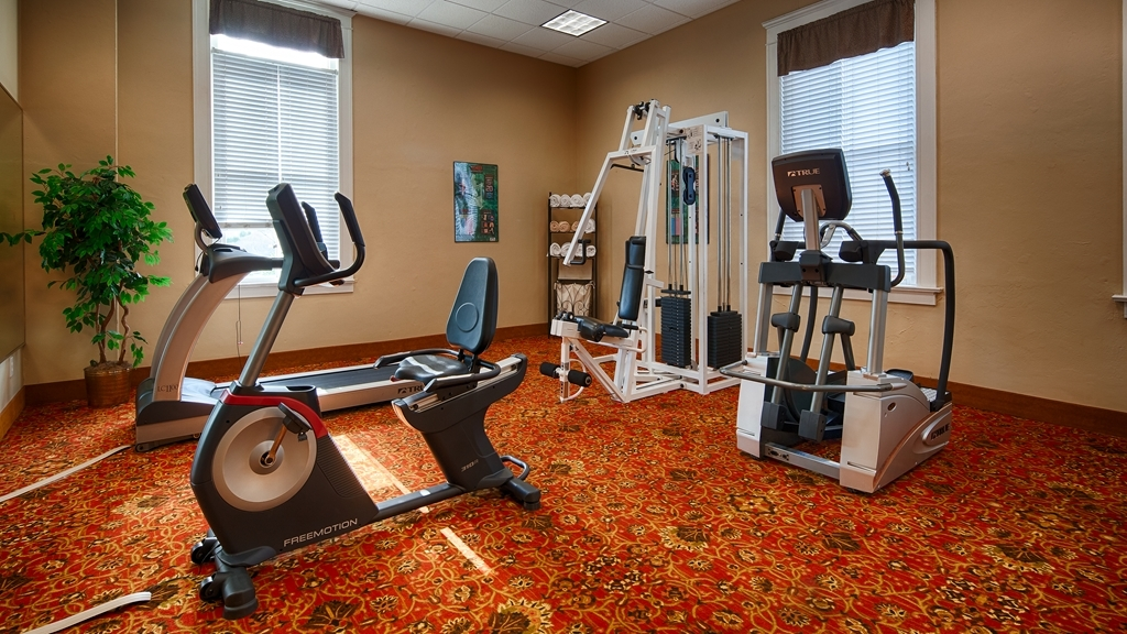 Best Western Plus Sunset Suites-Riverwalk - fitnessraum