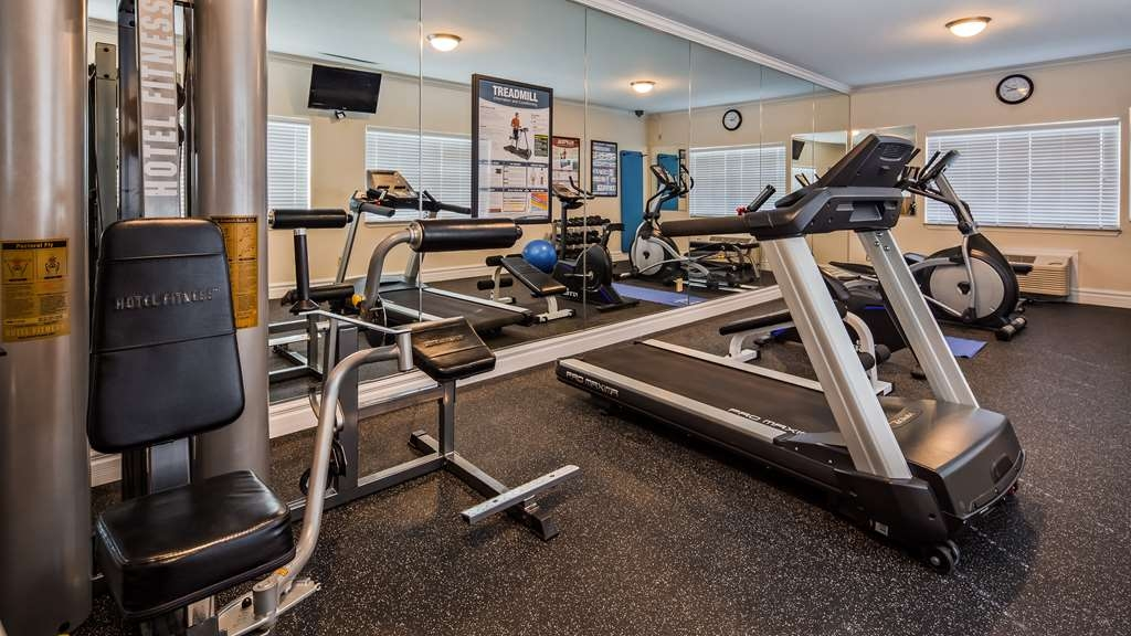Best Western Club House Inn & Suites - Fitnessstudio