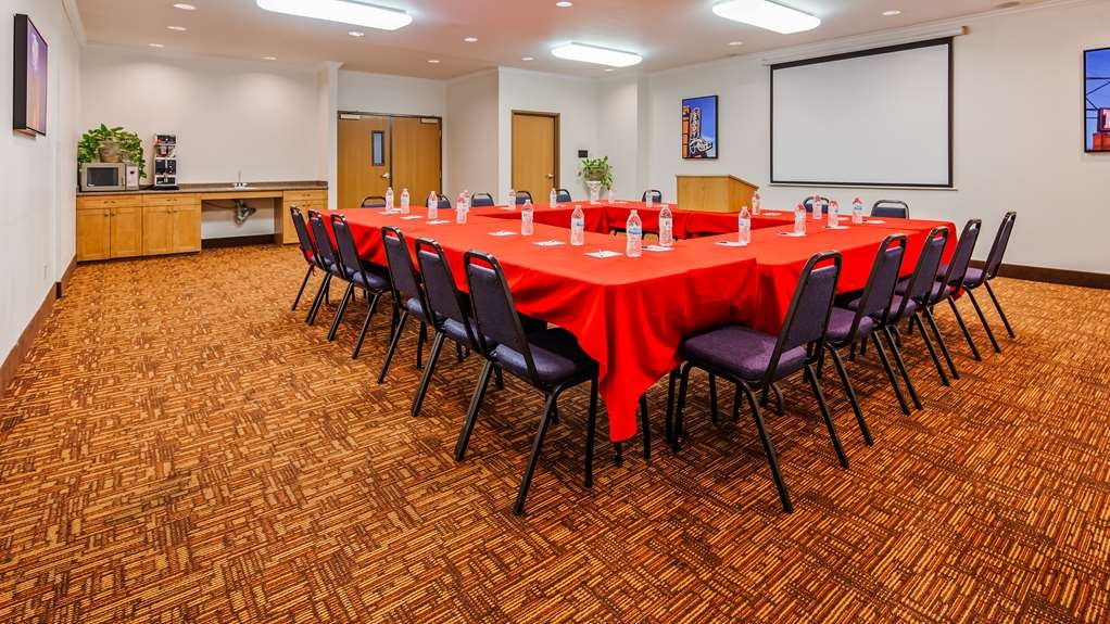 Best Western Club House Inn & Suites - Sala de reuniones