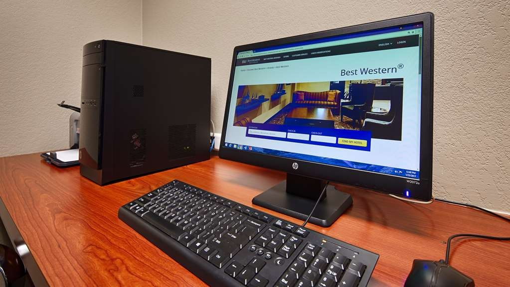 Best Western Galleria Inn & Suites - Feel free to check your email in our business center.