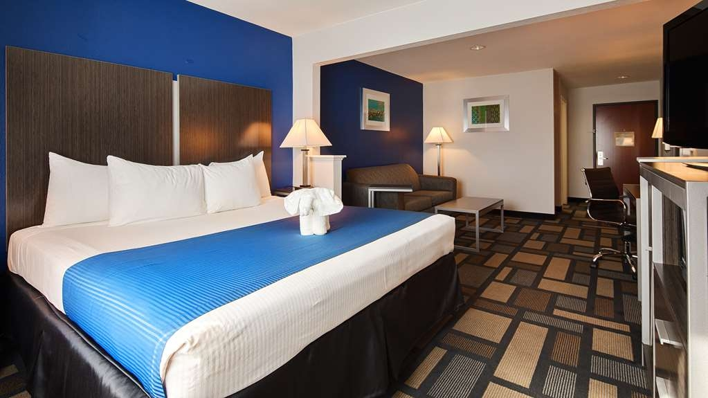 Best Western Galleria Inn & Suites - Relax and unwind with our King Suite made with comfort and care.