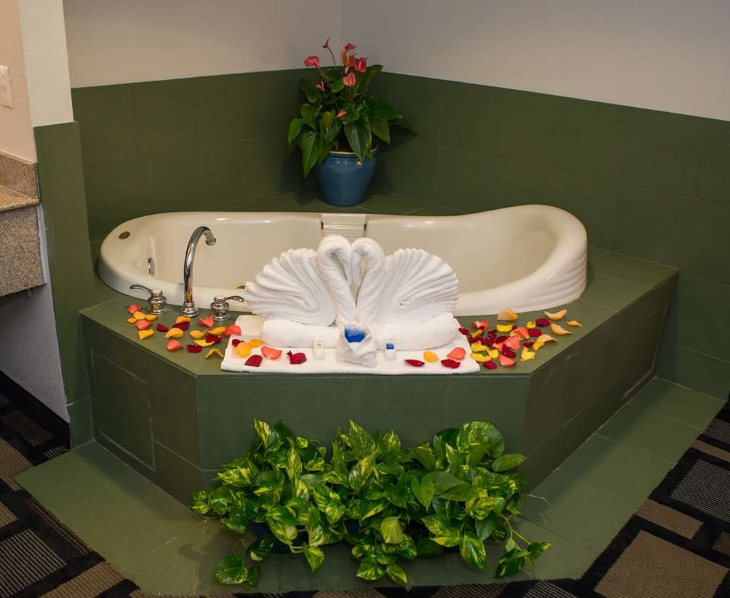 Best Western Galleria Inn & Suites - Get treated with our whirlpool tub in our king bed Jacuzzi Suite.