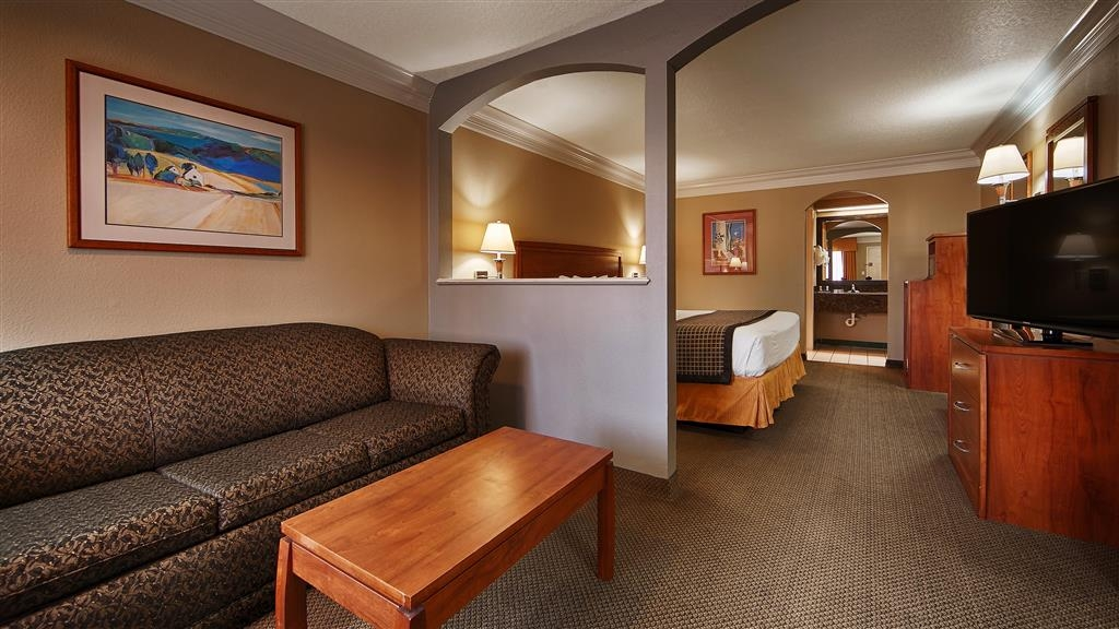 Best Western Angleton Inn - Our King Suites offer plenty of space to eat, work and sleep.