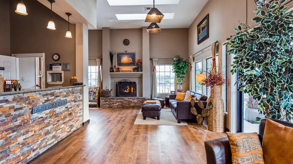 Best Western Johnson City Inn - Lobby & Reception Area