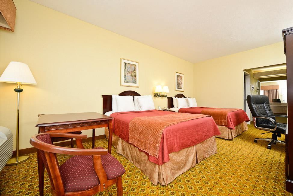 Best Western Dayton Inn & Suites - Dos camas de matrimonio grandes