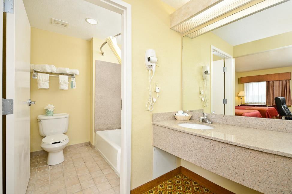 Best Western Dayton Inn & Suites - ¿Ha olvidado su champú? No se preocupe, nuestro hotel le proporcionará todo lo que pueda necesitar durante su estancia con champú, acondicionador y loción.