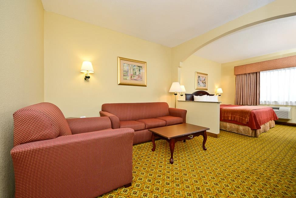 Best Western Dayton Inn & Suites - Use the sofa bed in our king suite for extra sleeping space without the cost of an additional room.