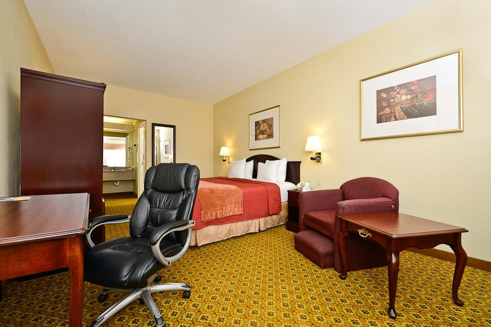 Best Western Dayton Inn & Suites - Vous avez besoin de travailler pendant votre séjour chez nous? Nous offrons un accès gratuit à Internet sans fil haut débit dans toutes les chambres.