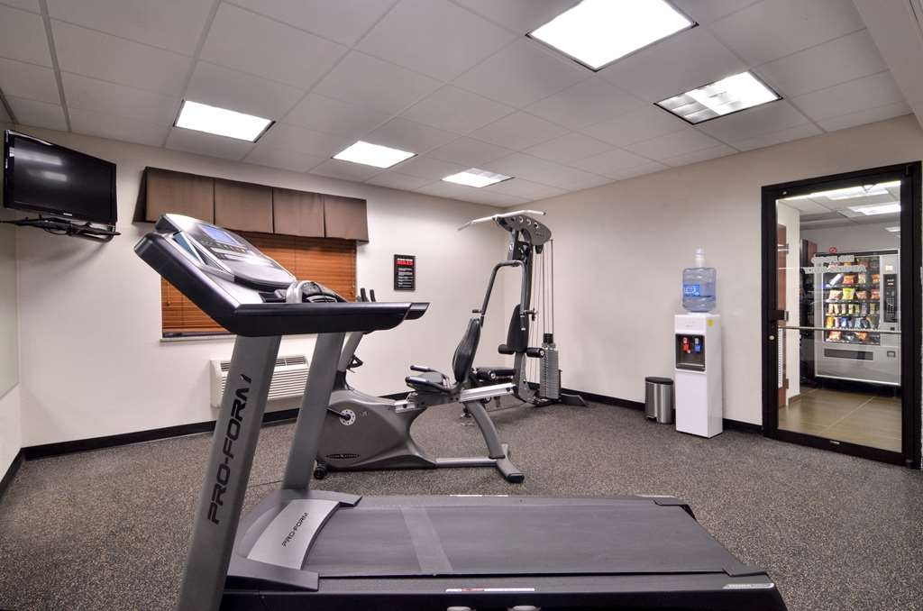 Best Western Dayton Inn & Suites - Our fitness center available for our guests.
