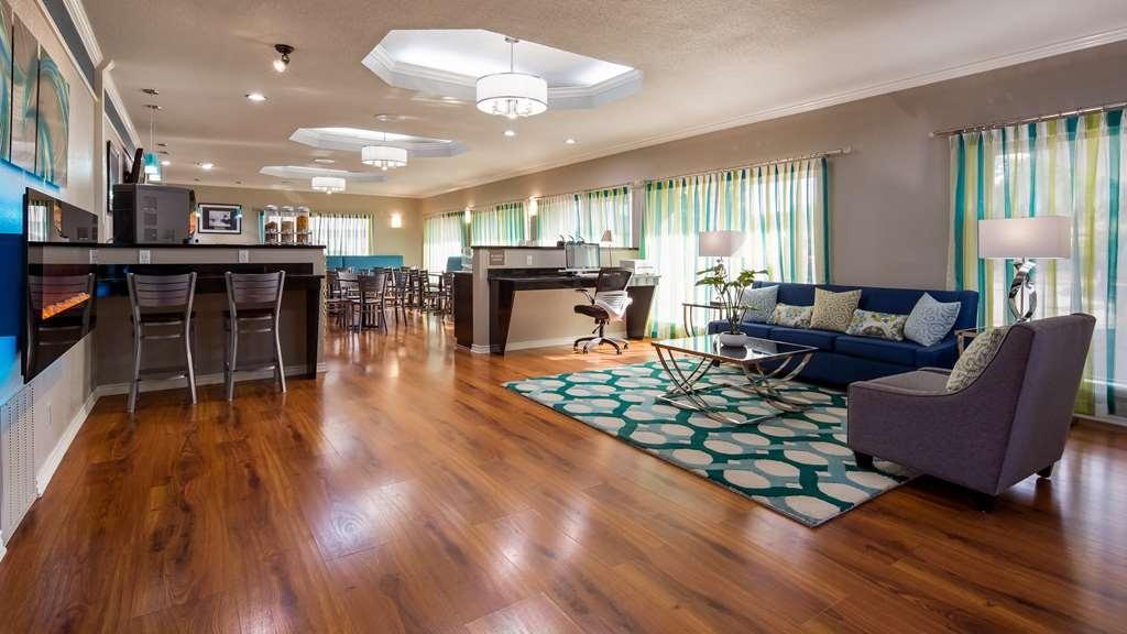 Best Western Post Oak Inn - Lobby & Sitting Area