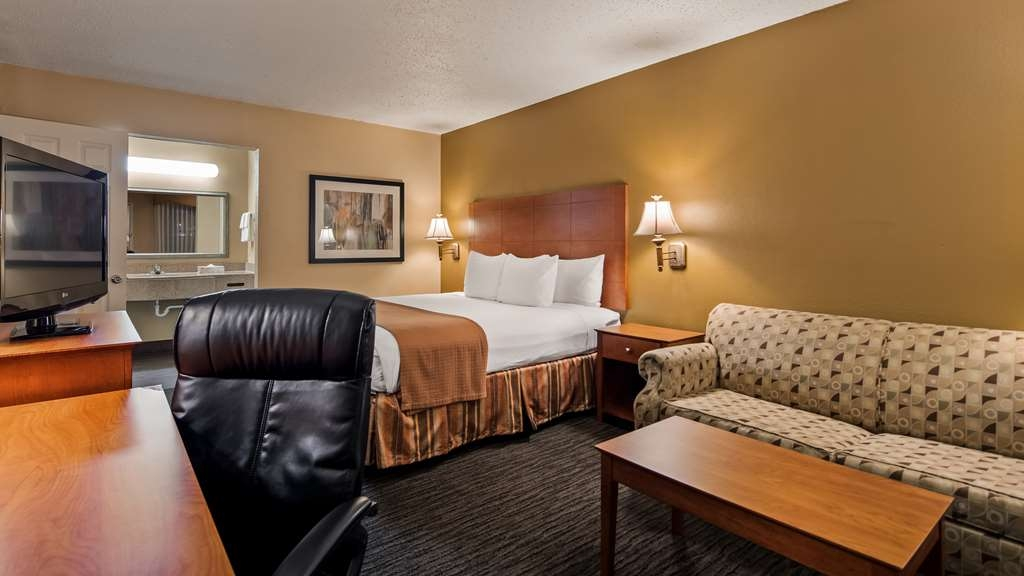 Best Western Cityplace Inn - King Guestroom with Sofa Bed