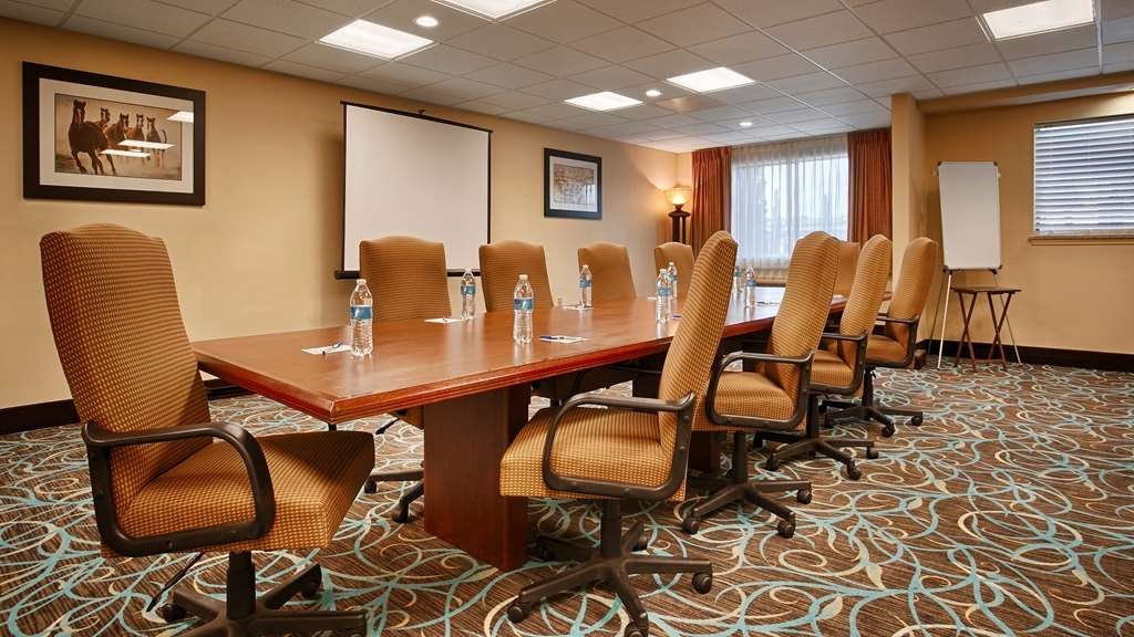 Best Western Plus Sam Houston Inn & Suites - Sala de reuniones
