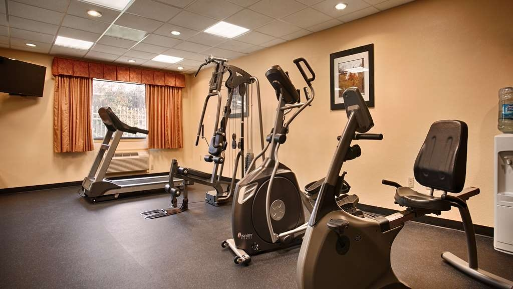 Best Western Plus Sam Houston Inn & Suites - There is no need to take a break from your regular fitness routine during your stay with us.