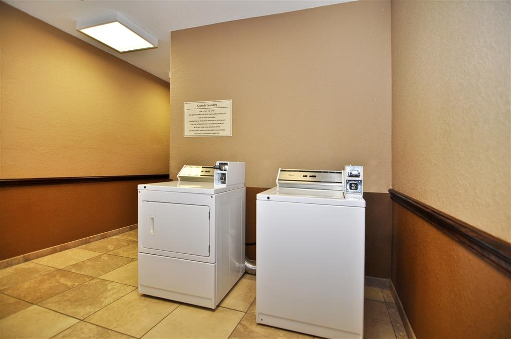Best Western Plus Victoria Inn & Suites - Our fully-stocked laundry facilities will help you stay spiffy while on the road.