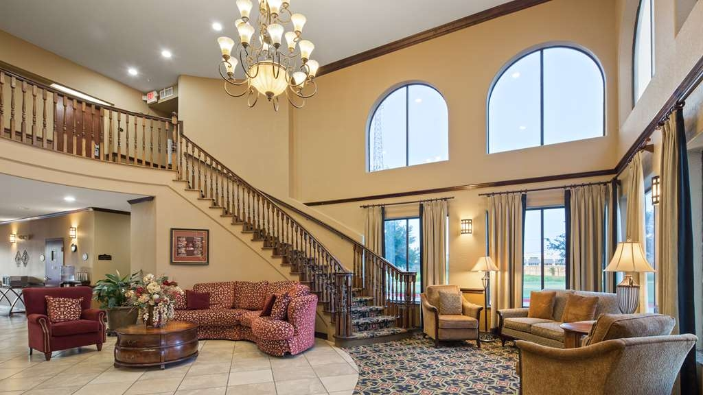 Best Western Plus Victoria Inn & Suites - Our lobby is the perfect spot to relax after a long day of work and travel.