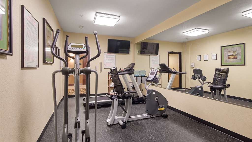Best Western Plus Victoria Inn & Suites - Fitnessstudio