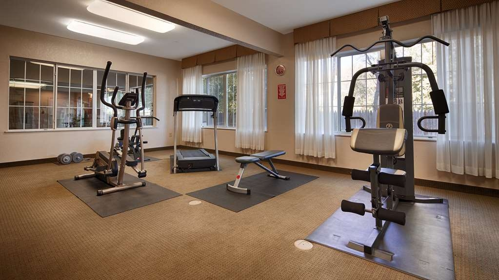 Best Western Palo Duro Canyon Inn & Suites - Fitnessstudio