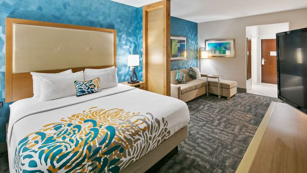 Best Western Plus Houston Atascocita Inn & Suites - You'll right at home in our King Suite.