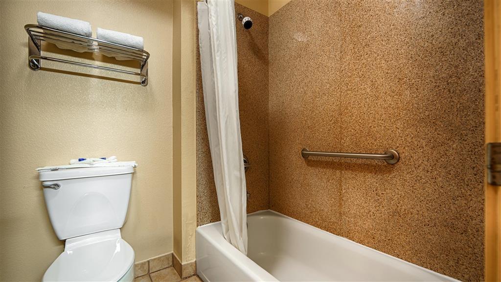 Best Western Windsor Pointe Hotel & Suites-AT&T Center - Guest Bathroom