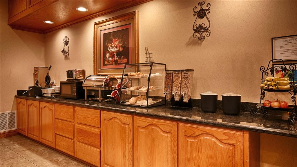 Best Western Longview - Breakfast Bar