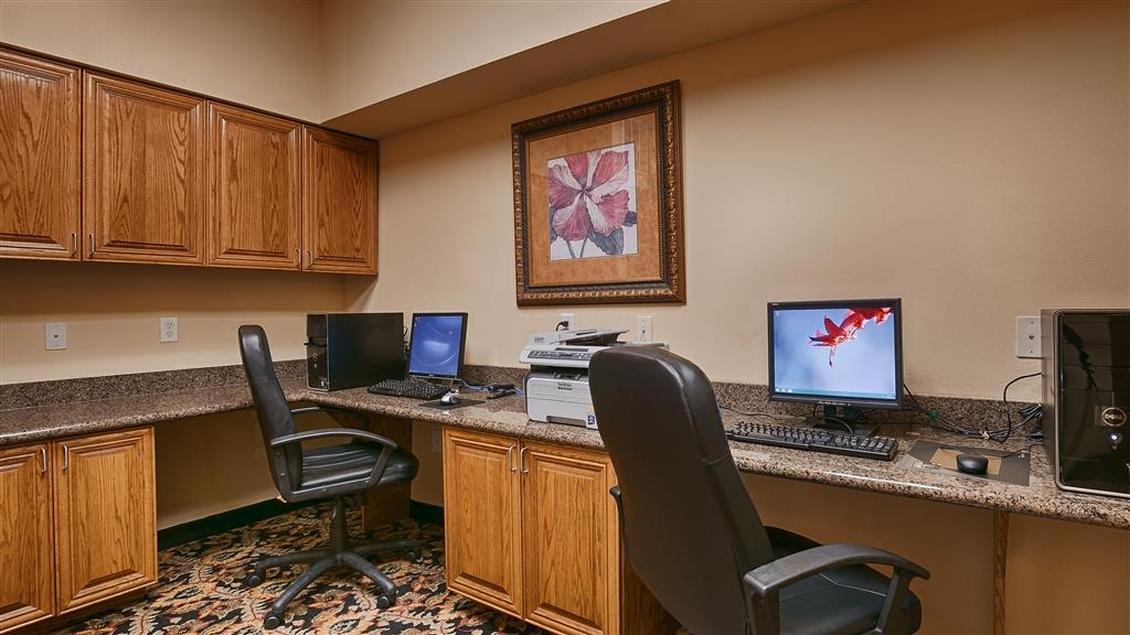 Best Western Plus Portland - Business Center – Available for all your business needs!