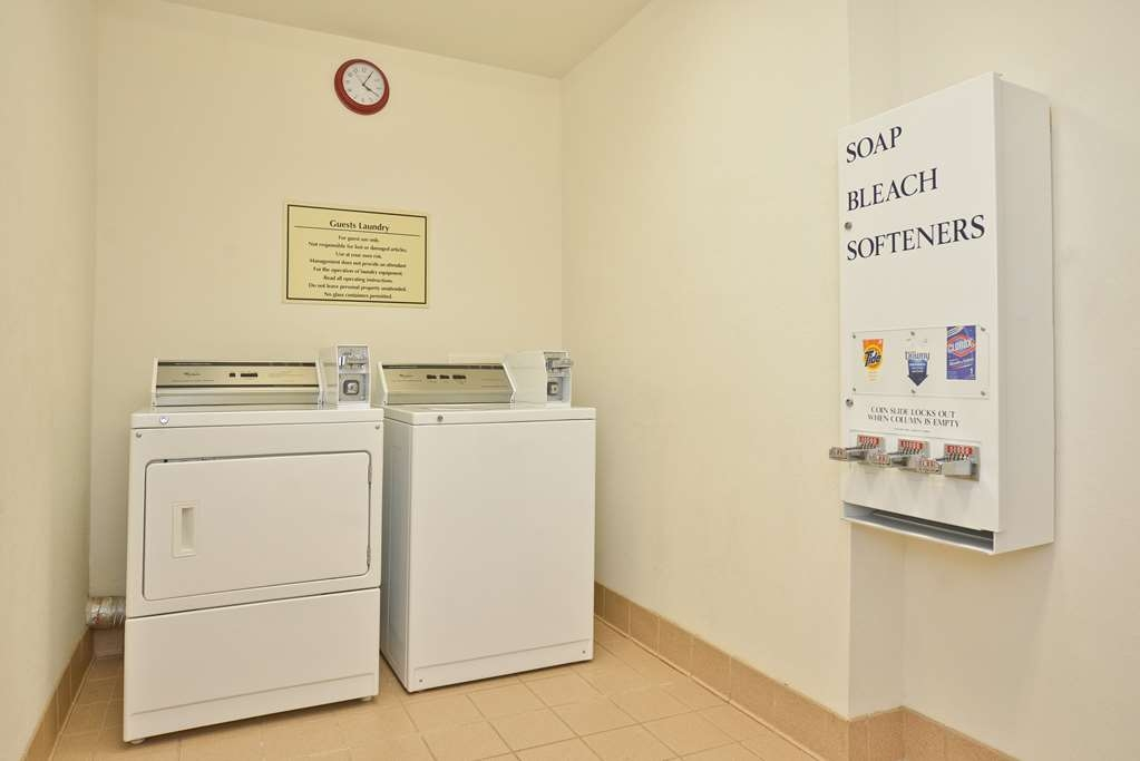 Best Western Limestone Inn & Suites - Staying awhile? Our laundry facilities are available for guests.