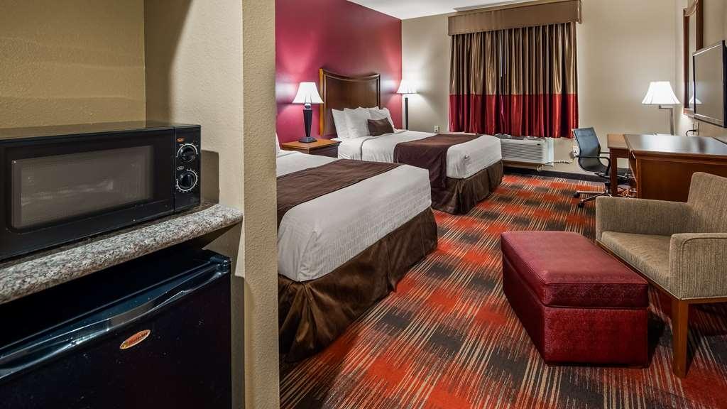 Best Western Plus Wylie Inn - Disfrute de una fantástica estancia en familia reservando una habitación con dos camas de matrimonio grandes.