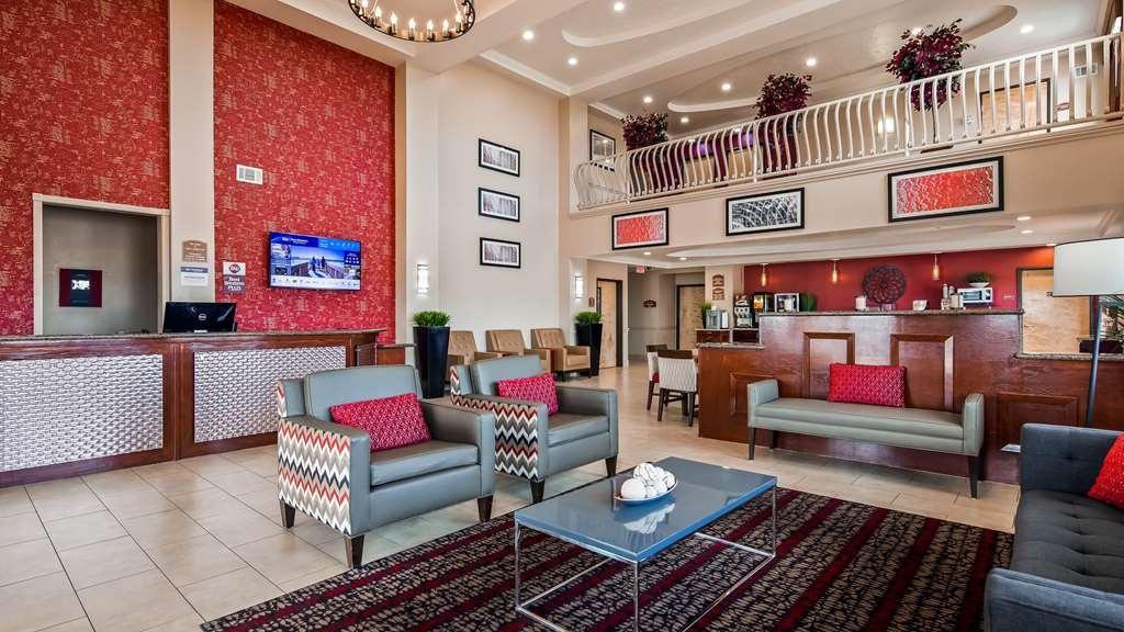 Best Western Plus Wylie Inn - Vista del vestíbulo