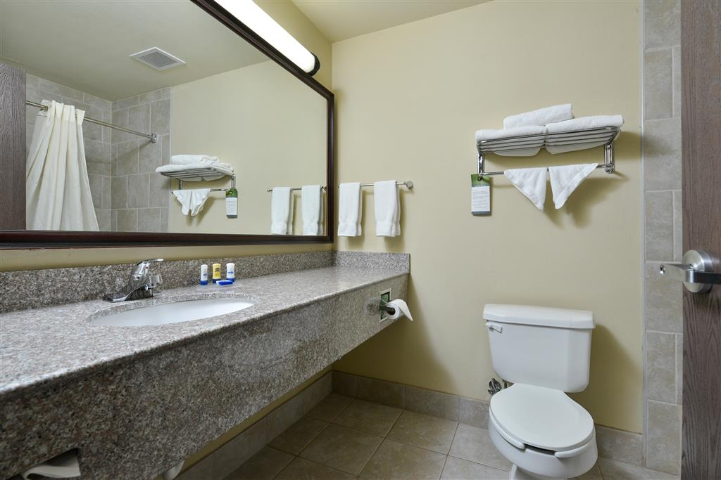 Best Western Plus Burleson Inn & Suites - Enjoy getting ready for the day in our fully equipped guest bathrooms.