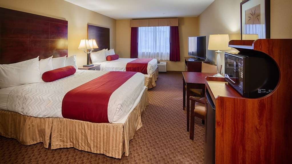 Best Western Plus Burleson Inn & Suites - We offer a variety of 2 queens rooms from standard to mobility accessible.