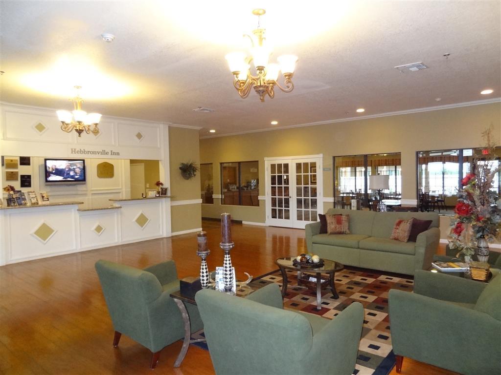 Best Western Hebbronville Inn - Vista del vestíbulo